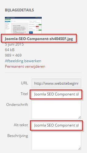 Joomla SEO Component Afbeelding