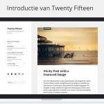 WordPress 4.1 Update met Twenty Fifteen Thema