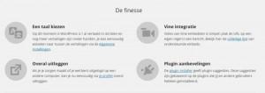 WordPress 4.1 de finesses