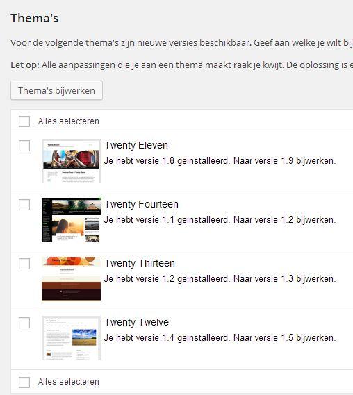 WordPress-Thema-s-bijwerken
