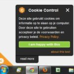 Een WordPress Cookie Plugin
