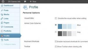 Het WordPress Redacteur scherm