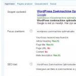 WordPress zoekmachine optimalisatie hulp